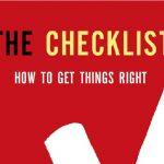 El Checklist: Un recurso que te puede salvar la vida.
